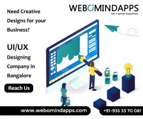 UI UX Design Company in Bangalore - Webomindapps