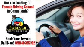 Female Driving School in Chandigarh