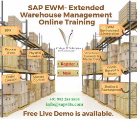 SAP EWM Online Training