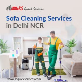sofa cleaning service in Delhi  |RS Quick Service