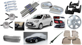 Car accessories shop in Dubai