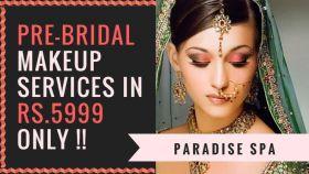 Pre bridal makeup service
