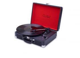 CLAW Stag Portable Vinyl Record Player Turntable w