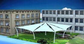 Tensile Gazebo Structure