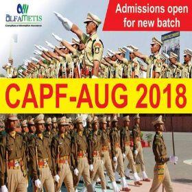 CAPF Coaching Academy in Delhi