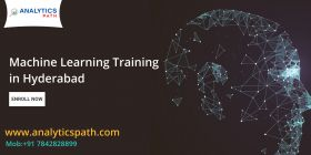 Machine Learning Training in Hyderabad