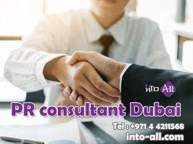 PR consultant Dubai