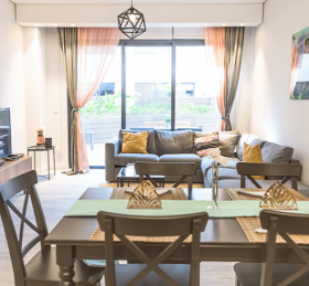 2-Bedroom Apartment with Terrace