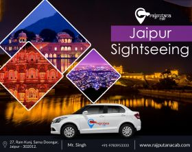 Jaipur Sightseeing Taxi | Best Jaipur sightseeing