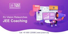 RJ Vision Relaunches JEE Coaching