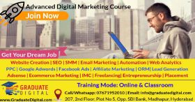 Advanced Digital Marketing & Ecommerce Course