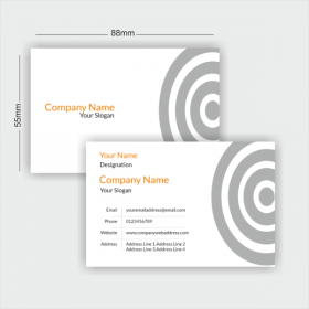 designing visiting cards and printing services