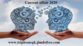 current  affair  2020