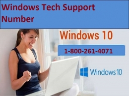 Windows tech support number 1-800-261-4071