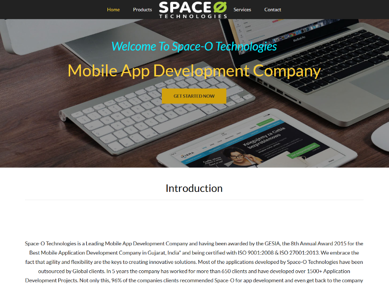 Few Of Websites Developed By Using Our Website Builder Spaceotechnologies